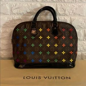 Custom Louis Vuitton Alma PM RAINBOW Monogram